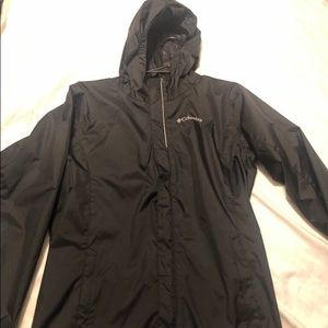 Columbia rain windbreaker youth large
